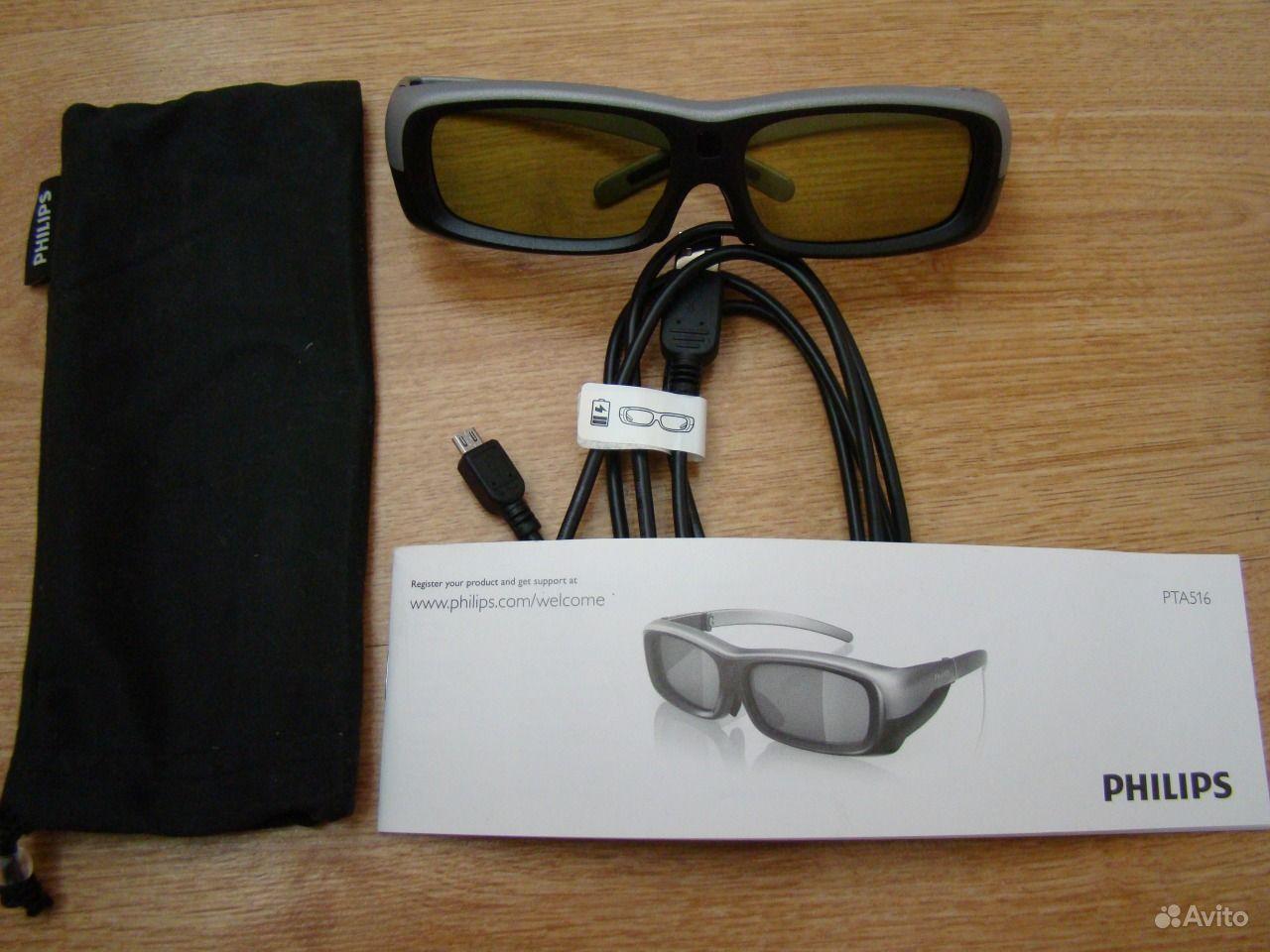 Активные 3d очки philips 14 фотография