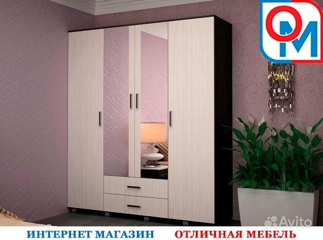 Шкаф 4-х створчатый шк-24