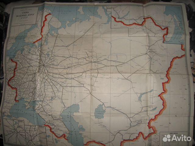 Схема (карта) железных дорог