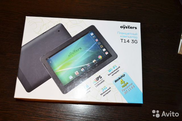 Планшет Oysters T14 3G Black - купить - Евросеть