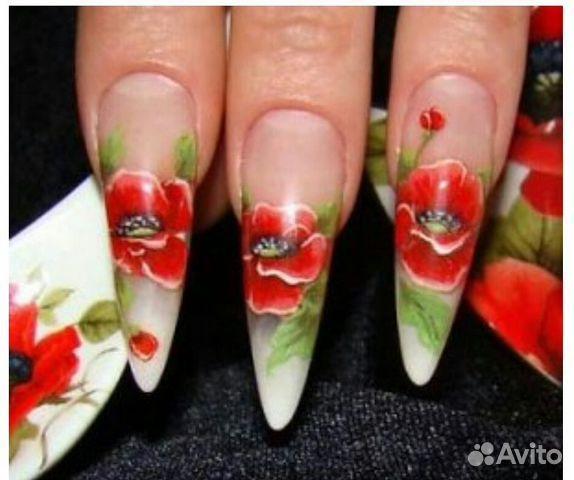 Аквариумный дизайн ногтей пошаговое фото