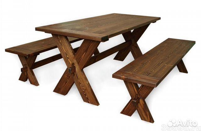 Изготовление стола своими руками из массива дерева