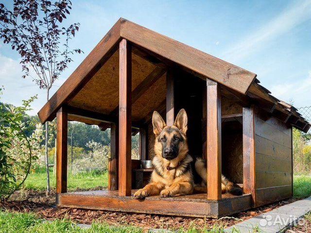 Как сделать будку собаки