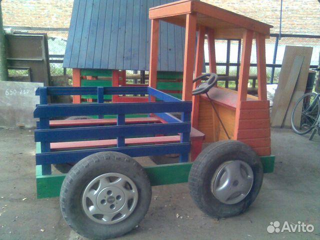 Детская машина на дачу