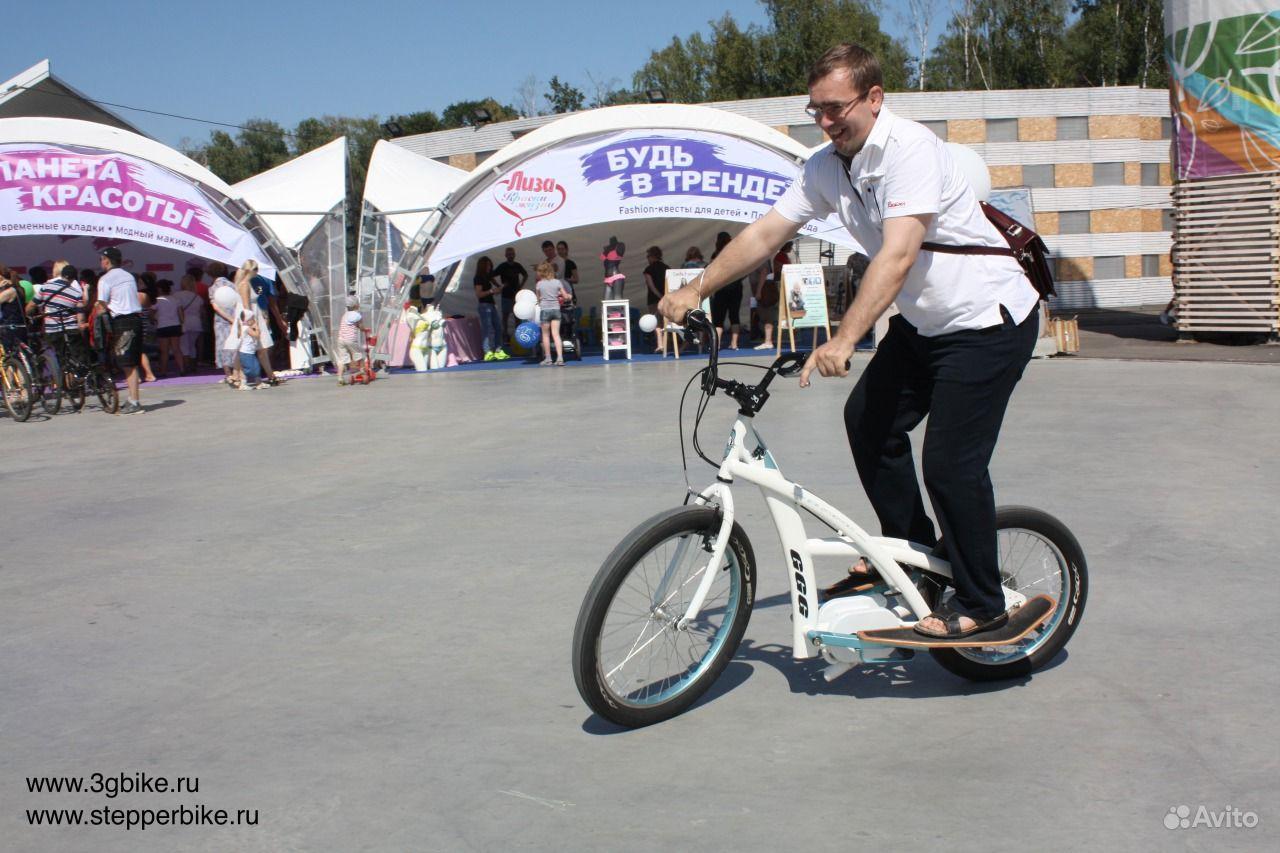 Миничоппер-велостеппер
