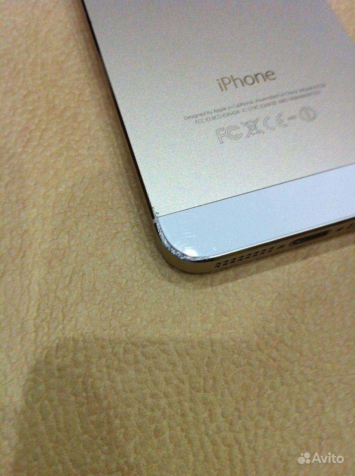 Iphone 5s золотой — фотография №2