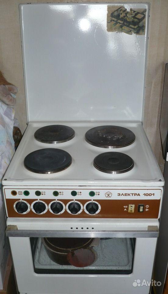 Электроплита Электра 1001 б/у