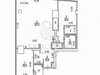 3-к. квартира, 198 м², 49/76 эт.