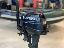 Лодочный мотор suzuki DT 9.9 AS 2 тактный б\у