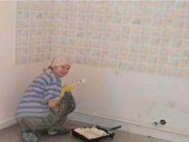 Косметический ремонт (демонтаж). Обои-окраска — Предложение услуг в Санкт-Петербурге