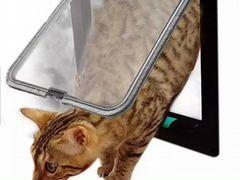 Дверца для кошек и мелких собак