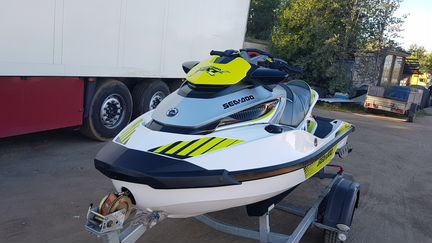 2017 г.в. RXT X 300 л. BRP SEA DOO 14 м.ч гидроцил
