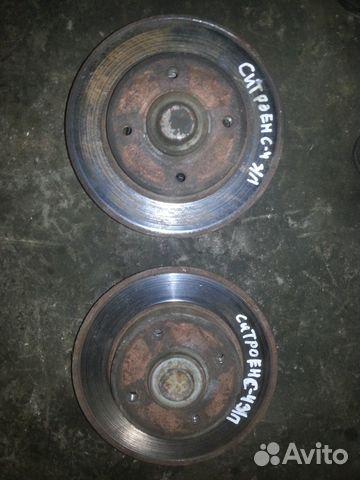 тормозные диски citroen c4
