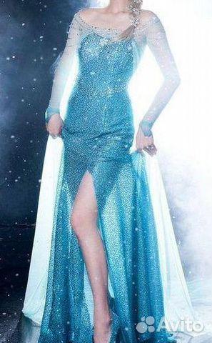 Купить платье эльзы из холодного сердца для девочек в москве - 908d