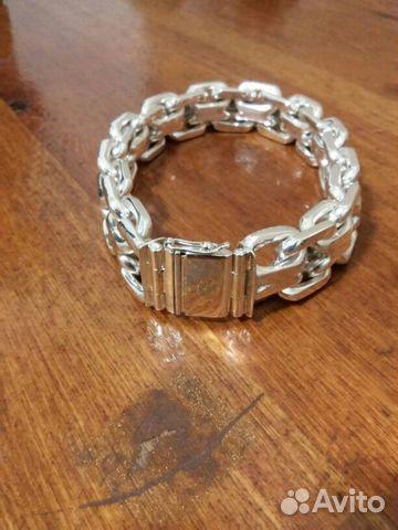 47742a3b581e Новый мужской серебряный браслет 925 купить в Краснодарском крае на ...