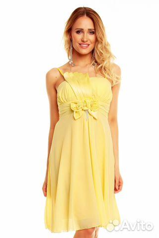 8423fc6dfe1 Желтое платье на выпускной и свадьбу