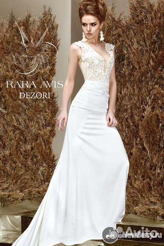 Свадебное платье купить на авито москва