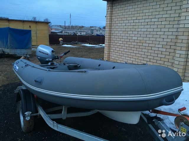 лодка риб винбот 420