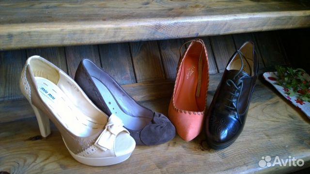 291c1408d3d9 Кожаные туфли, ботильоны, Эконика, новые, 39 купить в Москве на ...