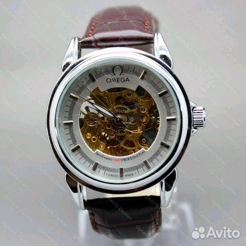 Китайские механические часы с автоподзаводом омега
