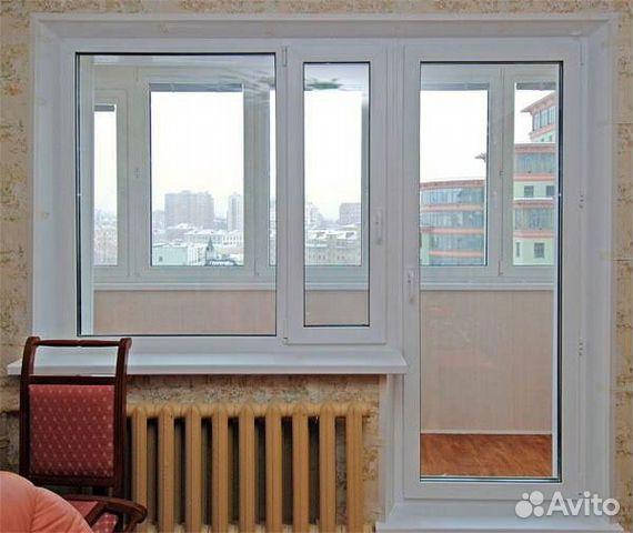 """Балконный блок пвх в """"брежневку"""" купить в свердловской облас."""