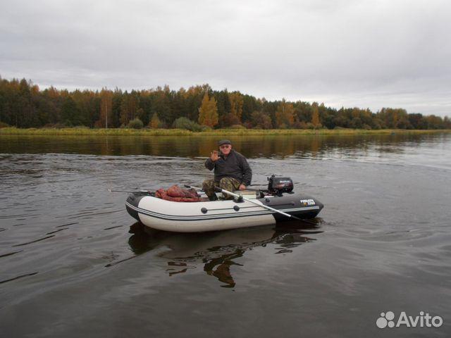 на лодке с мотором в подмосковье