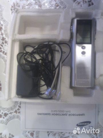 Диктофон samsung svr-s820, окончание 16. 10. 13 в 18:00 мск. Форум.