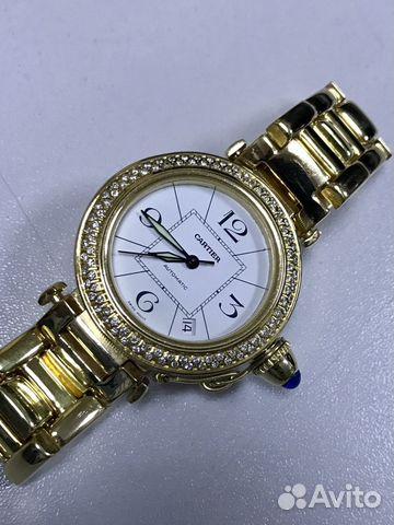 Часы картье с бриллиантами bvlgari