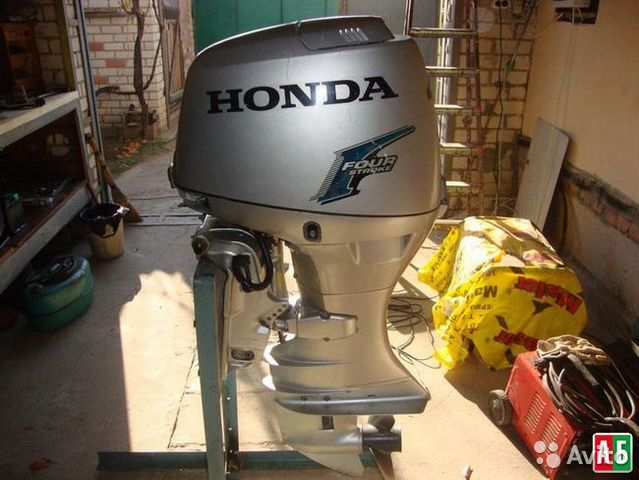 мотор лодочный хонда бф50