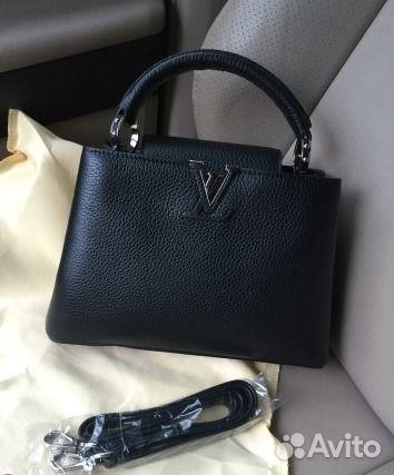 ce9de52fdffe Новая Сумка Louis Vuitton Capucines Луи Витон Черн купить в Москве ...