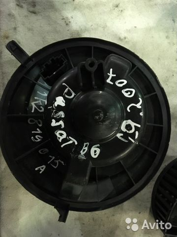 Мотор печки Фольксваген Пассат Б6 1K2819015A— фотография №1