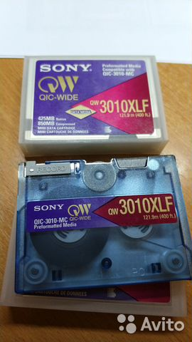 Sony QW3010XLF 425MB Mini Data Cartridge