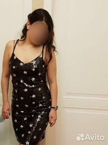 848fbecc6a4 Платье пайетки Италия 46р