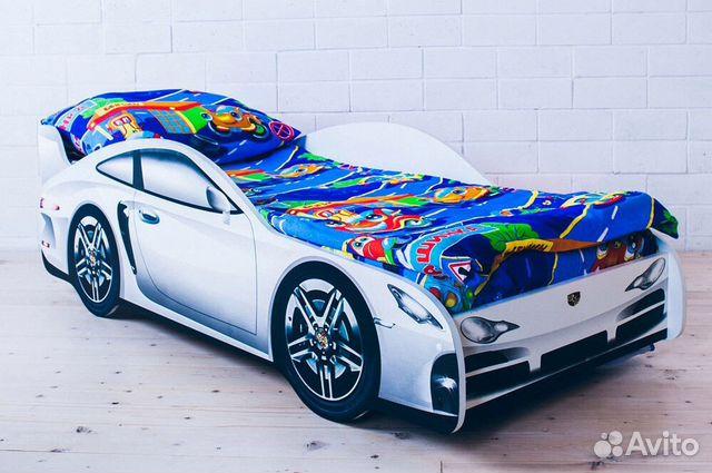 Кровать машина. бесплатная доставка 89188878800 купить 1