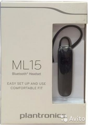 Plantronics ML15 Bluetooth-гарнитура  bc03e53648e41