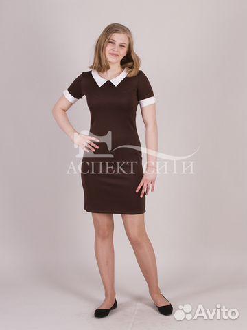 Школьное платье на последний звонок, коричневое купить в Москве на ... ed1302403b1
