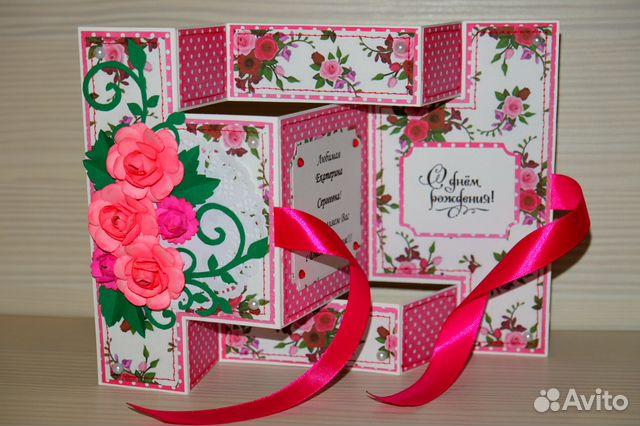 Как сделать открытку на день рождения раскладушку, цвета открытках картинки