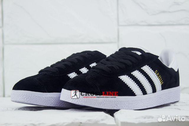 59833dc0 Кроссовки Adidas Gazelle W black арт. 308003 жен   Festima.Ru ...