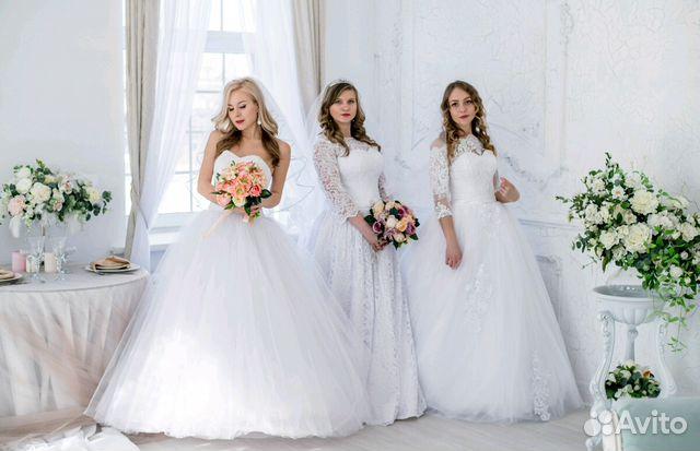 774a8eed213 Красивые много свадебных платьев купить в Томской области на Avito ...