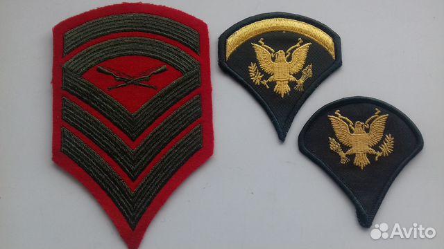 Нашивки армии США 89244016358 купить 3