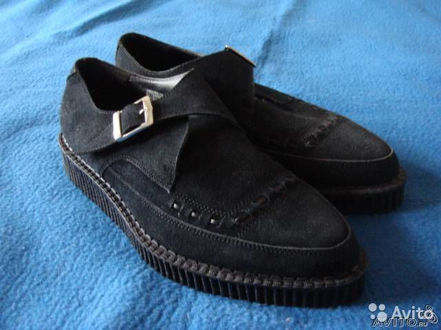 Blue Suede Shoes Creepers размер 42 made in UK