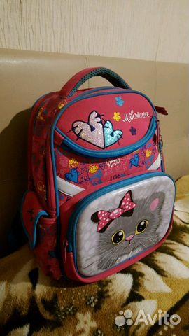 14d29638ada0 Школьный портфель (ранец, рюкзак) для девочки | Festima.Ru ...