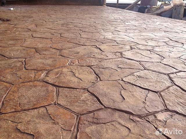 Штампованный бетон крымск бетон в ковылкино купить