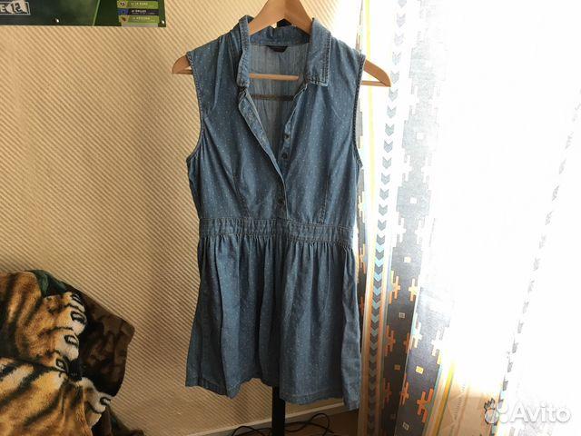 40d76e5c63e Джинсовое платье TopShop купить в Москве на Avito — Объявления на ...