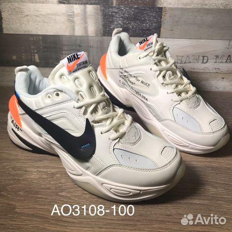 6f4d0158 Кроссовки мужские Nike M2K Tekno x Off-White белые купить в Санкт ...