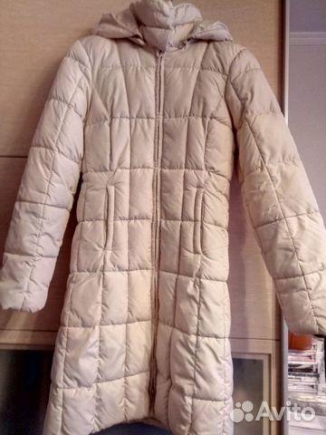 b55532732c8 Стеганное болоневое пальто купить в Москве на Avito — Объявления на ...