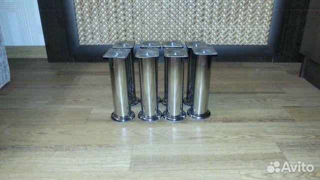 Хромированные опоры для мебели 200х50 89107321277 купить 2