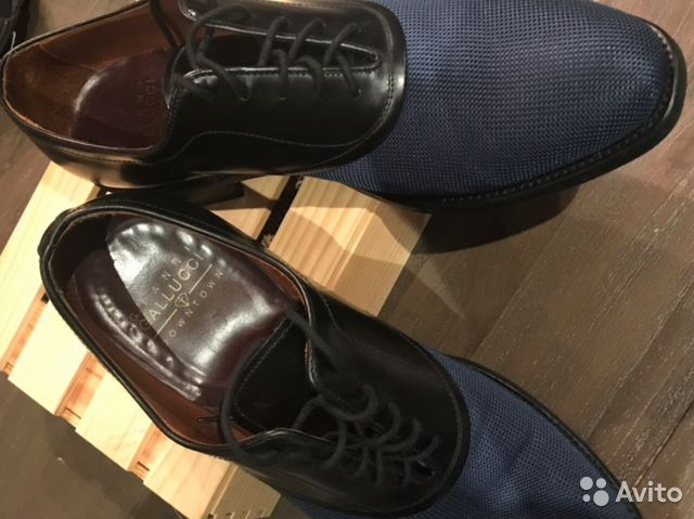 4e01c4e44 Итальянские мужские туфли-оксфорды galucci (42 р)   Festima.Ru ...