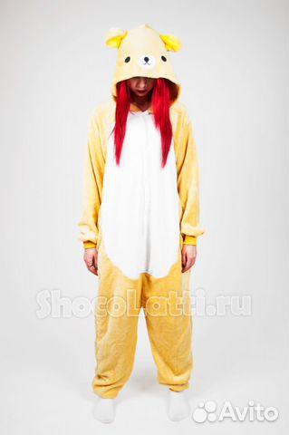 Пижама кигуруми медвежонок купить в Москве на Avito — Объявления на ... 8c6ccad0f73f6