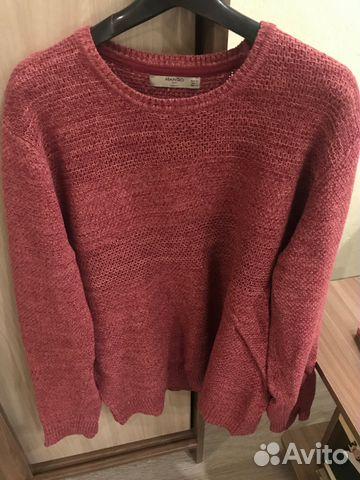 бордовый вязаный свитер Mango купить в санкт петербурге на Avito